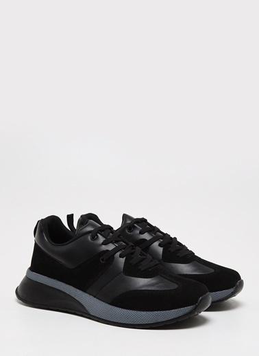 F By Fabrika Erkek Siyah Sneakers GAVINx Siyah